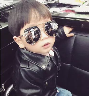 Irregular Models Sunglasses Retro Glasses Cool Treasure Black Ants Free Shipping Boys' Accessories