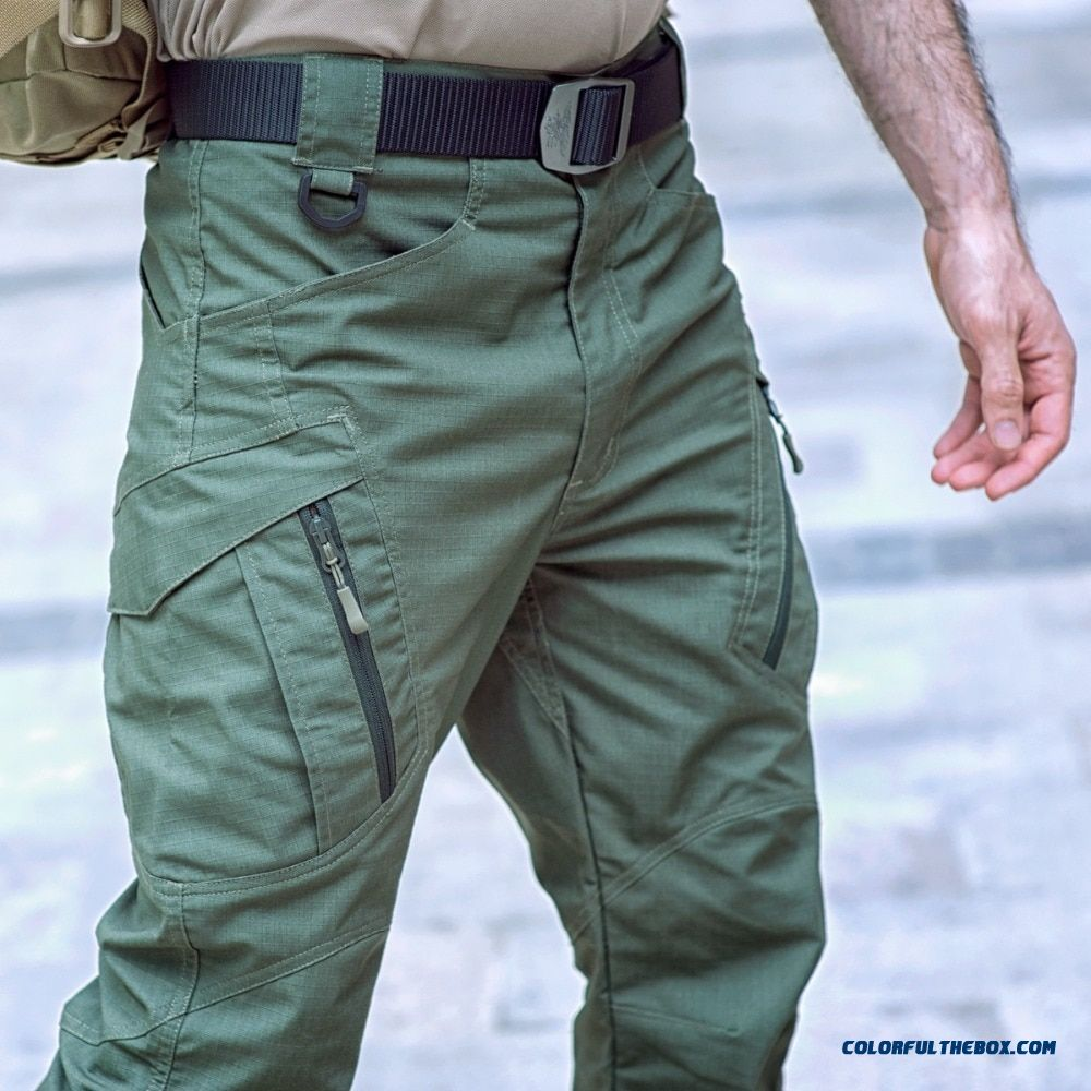 Ix9 Tactical Pants Spring Cargo Pants Men Combat Army Military Six Pockets Pants Cottontrousers Men Waterproof Pantalon Homme
