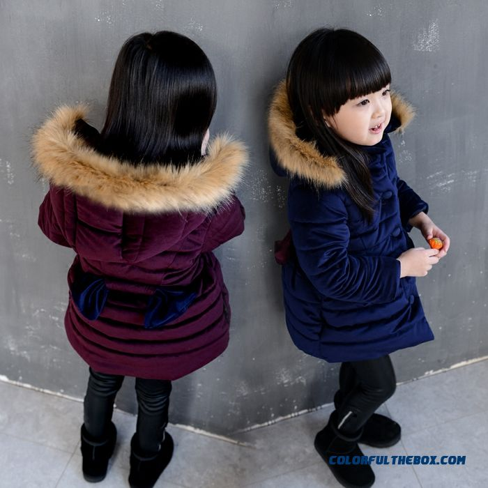 Kids Baby Fall Winter Thick Cotton Padded Jacket Coat Exclusive Design Sales Girls Winter Preferred Copthing