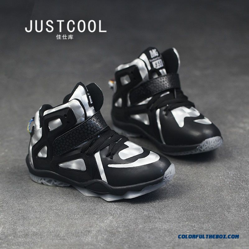 Kids Basketball Shoes Outdoor Travel Shoes Special Offer For Boys - more images 1