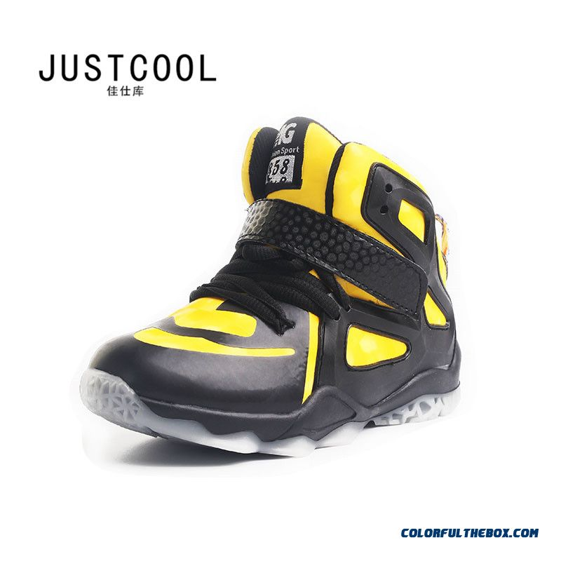 Kids Basketball Shoes Outdoor Travel Shoes Special Offer For Boys - more images 2