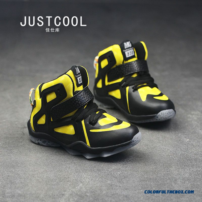 Kids Basketball Shoes Outdoor Travel Shoes Special Offer For Boys - more images 3