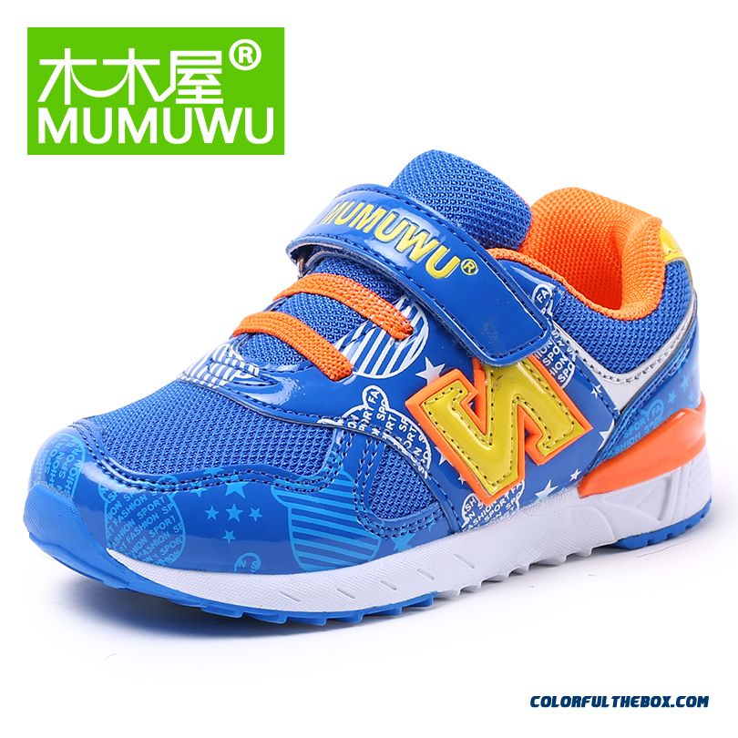 Kids Breathable Running Shoes Casual Absorb Sweat Shoes Specially Designed For Boys