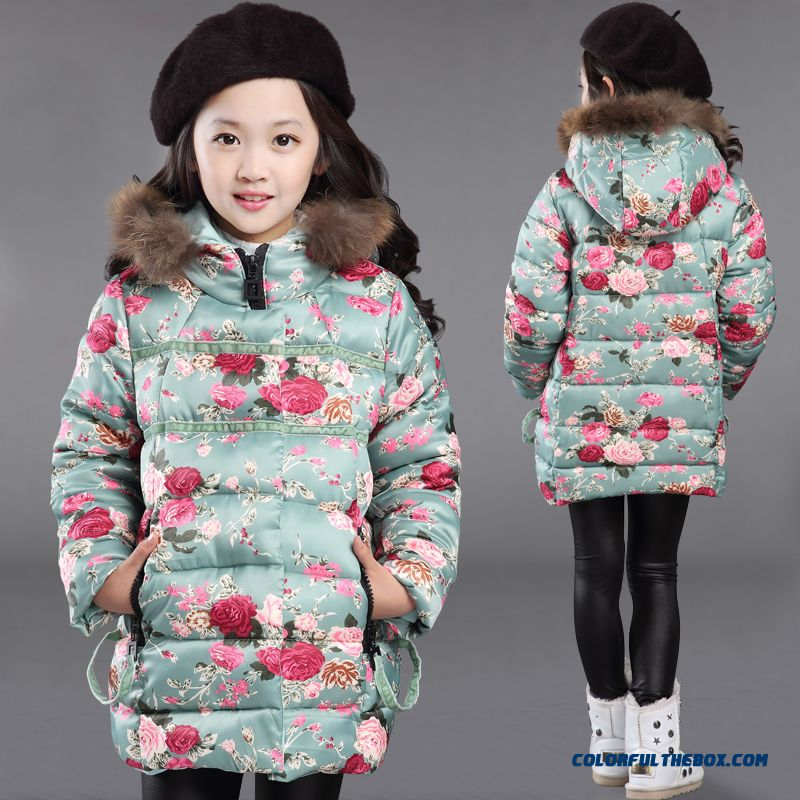 Cheap Kids Clothing Girls Thick Winter Coat Jacket Korean Version ...