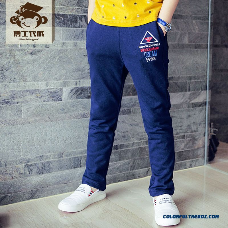 Kids Clothing Sweatpants Boys Long Pants Comfortable Elastic Fit Boys' Pants