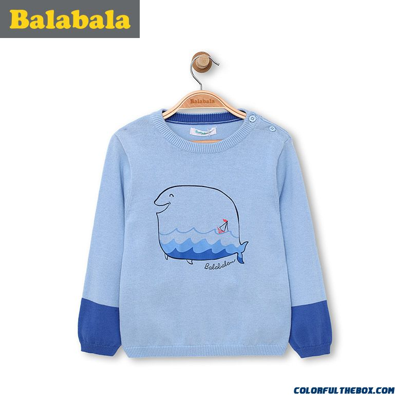 Cheap Kids Cotton Cute Shark Clothing Boy Baby Round Neck