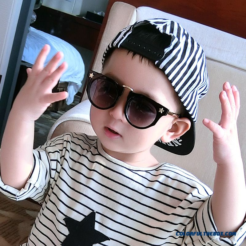 Kids Dark Glasses Baby Boys Goggles Accessories 2016 New Sunshades Sunglasses