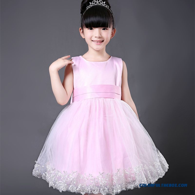 Kids Dress Flower Girl Dress Kids Dragon -sleeve The Dress Chic Fashionable Clothing