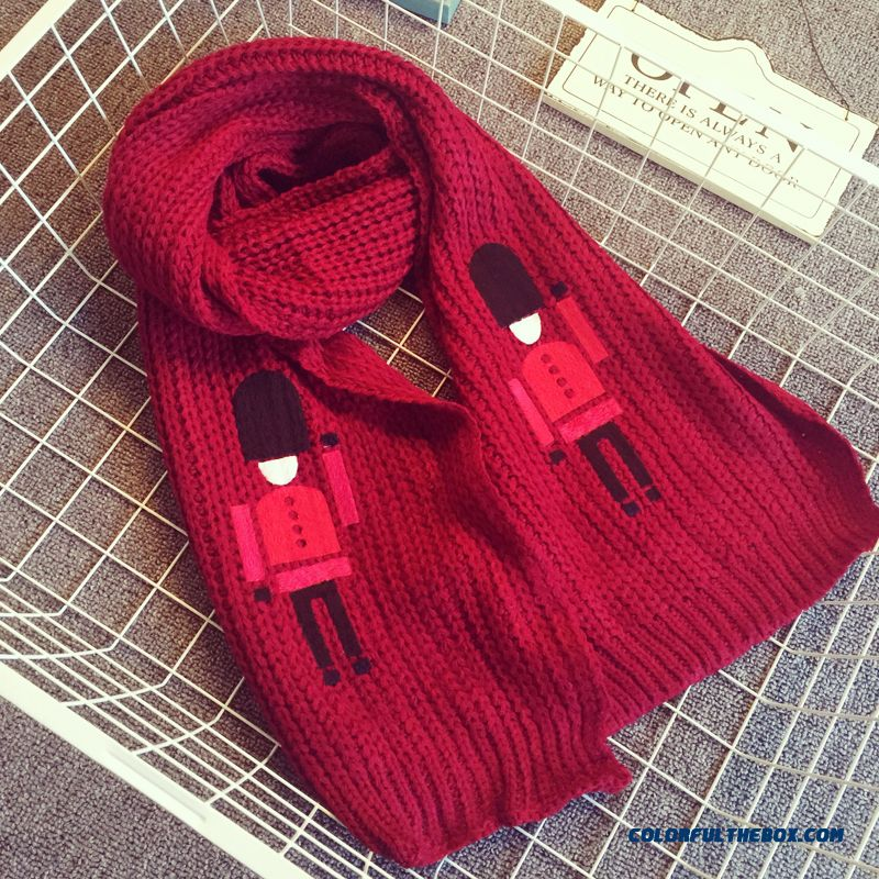 Kids Girls Fall And Winter Warm Wool Scarves Free Size Any Age Long Of Thick Scarves Accessories