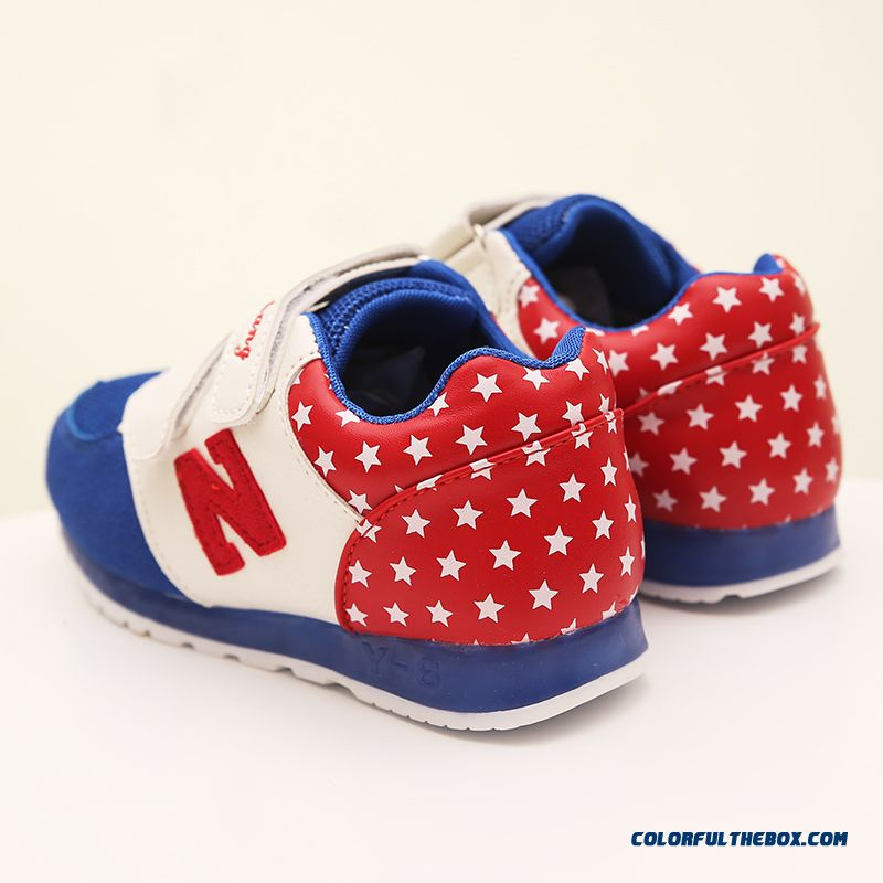 Kids Sports Shoes Autumn Girls Mesh Running Shoes Casual Light Shoes