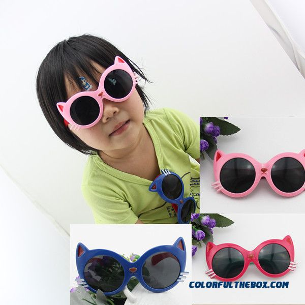Kids' Toys Cute Boys Baby Cat Sunglasses Uv Protection Sunglasses Accessories Free Shipping