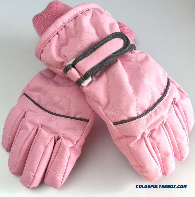 Cheap Kids Waterproof Warm Winter Models Girls Gloves Ski ...