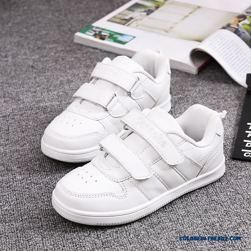Kids White Sneakers Casual Shoes Promotion New Arrival Girls Running Shoes