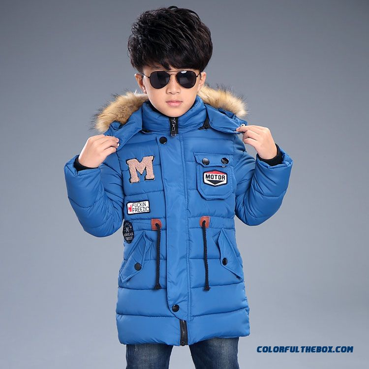 Kids Winter Essential Coats M Thick Coat Boy Cotton - Padded Clothes Children's Clothing - more images 1