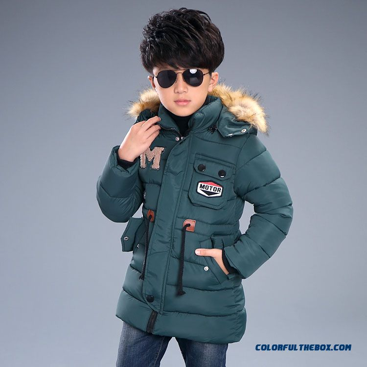 Kids Winter Essential Coats M Thick Coat Boy Cotton - Padded Clothes Children's Clothing - more images 2