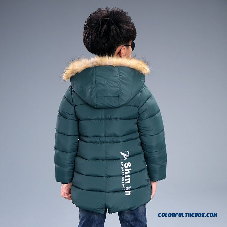 Kids Winter Essential Coats M Thick Coat Boy Cotton - Padded Clothes Children's Clothing - more images 3