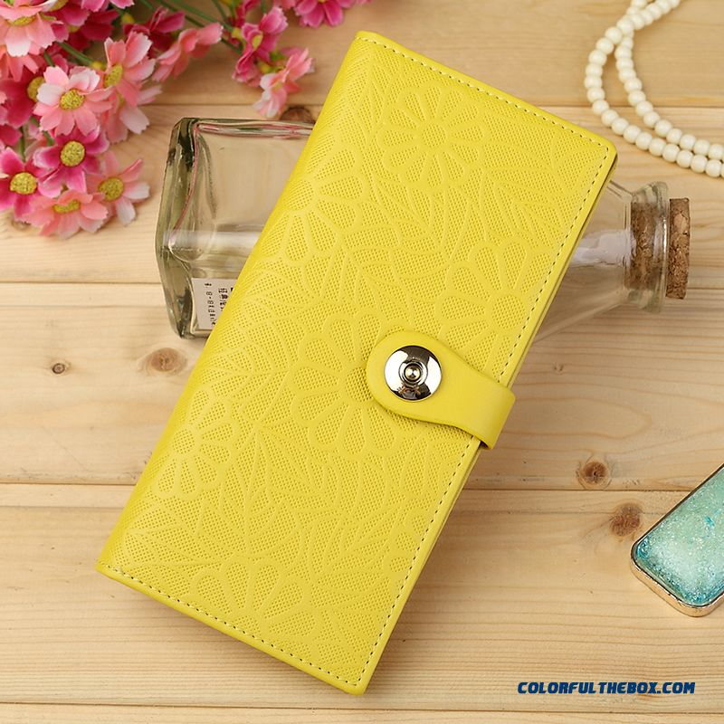 Korean Tidal Elegant Quality Bags Cowhide Long Wallets Genuine Leather For Women