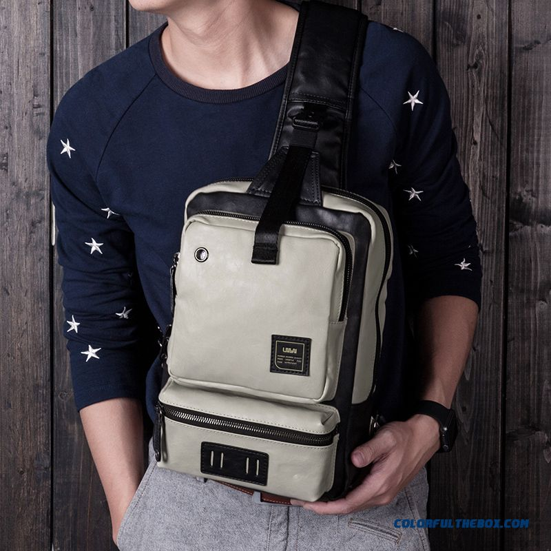 Korean Version Of Casual Bag Chest Bag Man Ipad Crossbody Bags