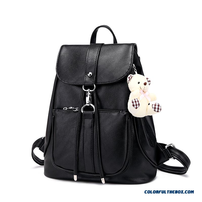 Ladies Backpack New Casual Women Bag England College Bag Dual-use School Bags