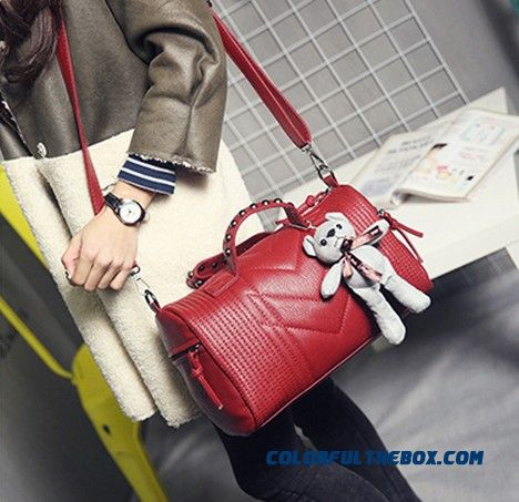 Ladies Bags New Fashionable Women Shoulder Bags Style Of Europe And America Boston