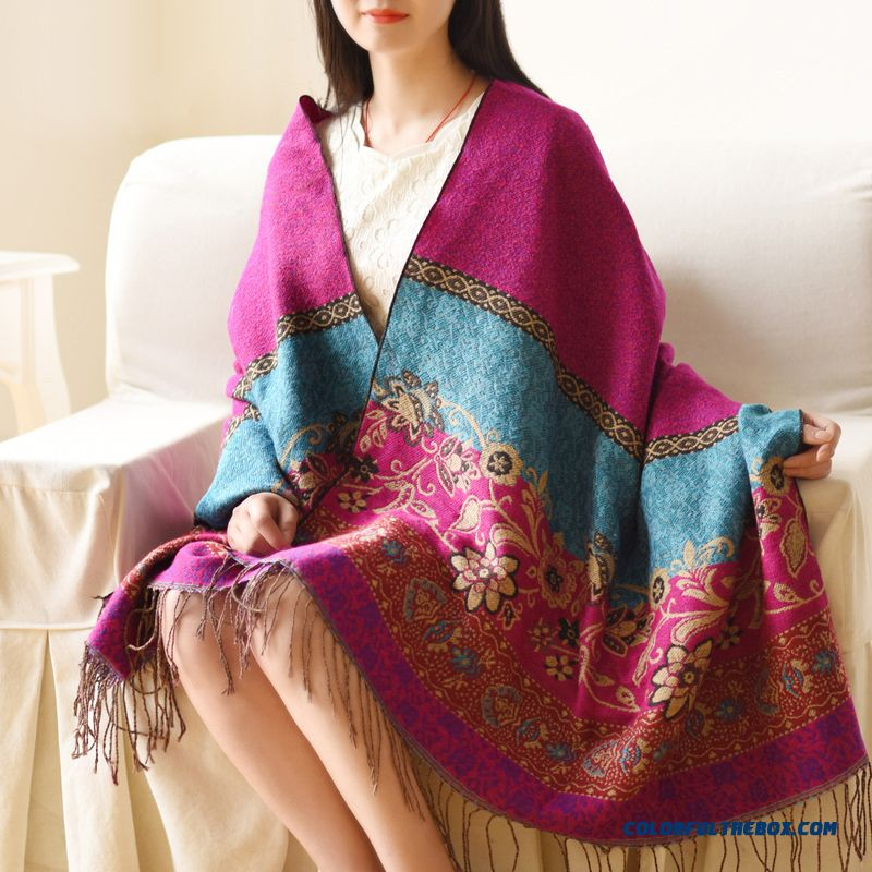 Ladies Rglt Brand Summer Women Travel Ethnic Style Literature Large Specifications Scarf Shawl