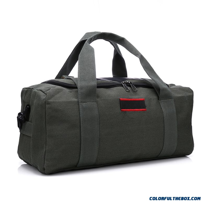 056dbb4defad ... Large Capacity Portable Shoulder Extra Large Size Of Thick Canvas  Travel Bag Design For Men