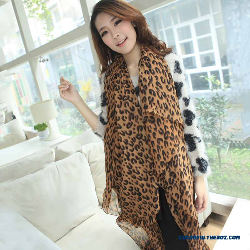 Large Size 200cm X140cm Ladies Fashion Classic Leopard Scarf Sunscreen Shawl Women Accessories