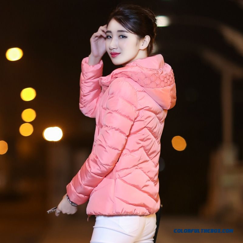 Latest Fashion Women Wear Coat New Winter Short Stitching Cotton-padded Clothes