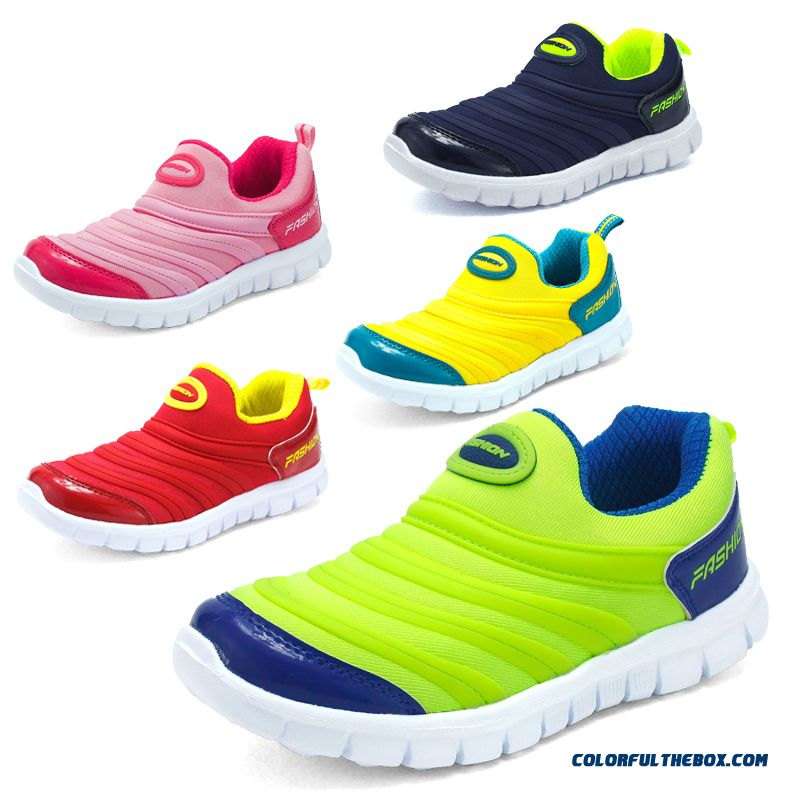 Lazy Leisure Sets Foot Tide Big Kids Sport Shoes Running Shoes For Boys Free Shipping