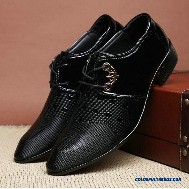 Leather Oxford Shoes For Men Dress Shoes Men Formal Shoes Pointed Toe Business Wedding Plus Size Formal Wedding Shoes Luxury