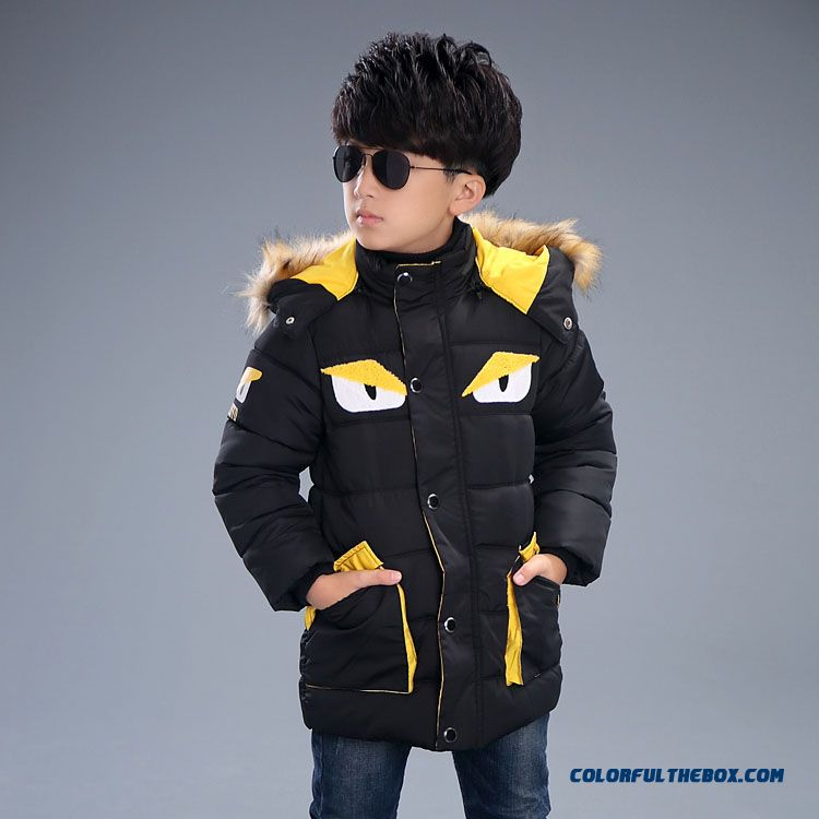 Little Monster Designs New Winter Kids Children's Clothing Boys Casual Jacket N33 Handsome