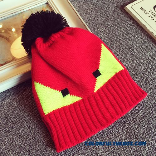 Little Monster Fashion Western Style Wool Hat Kids Accessories Warm Knitted Hat