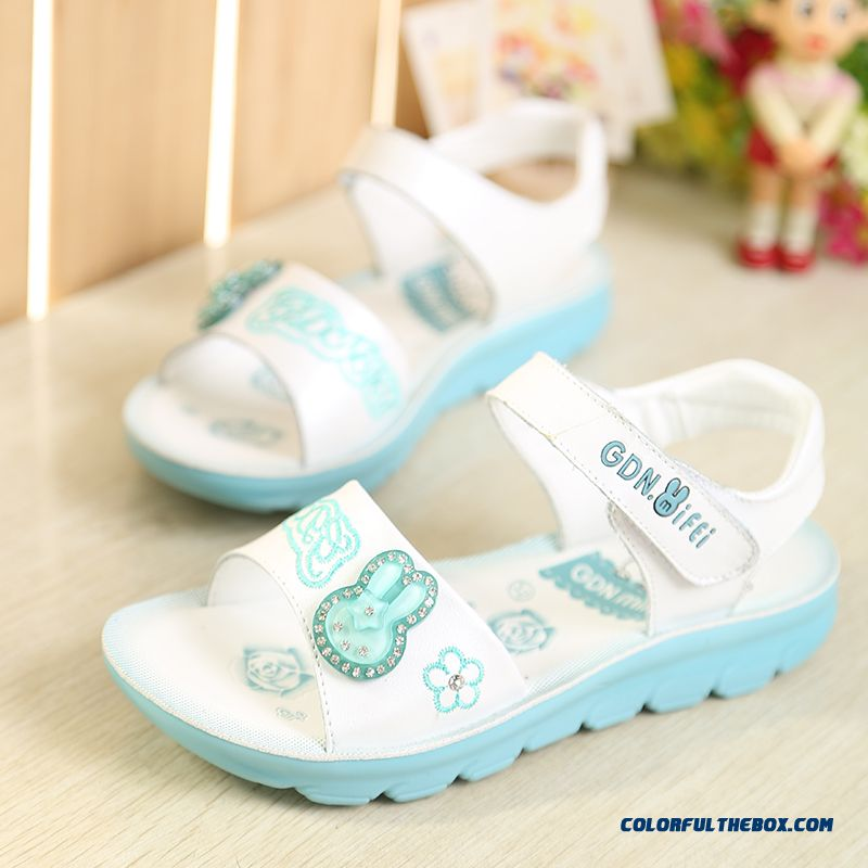 Loss Clearance New Children's Sandals Tudent Girls Shoes Free Shipping