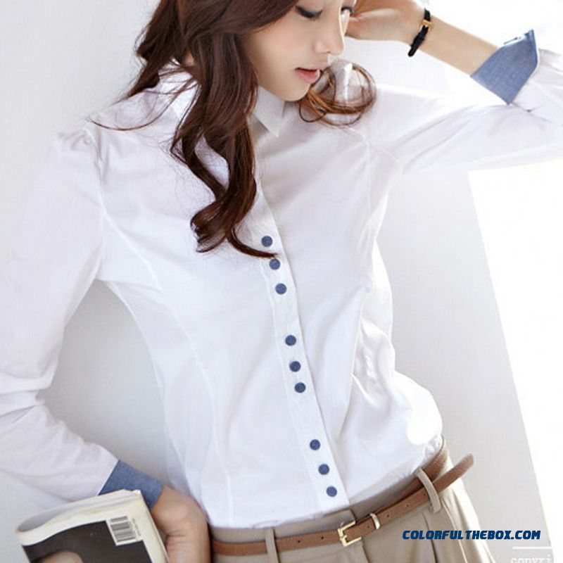 Low Price High Quality For Women Shirts Large Size Casual Long-sleeved Shirts Blouses