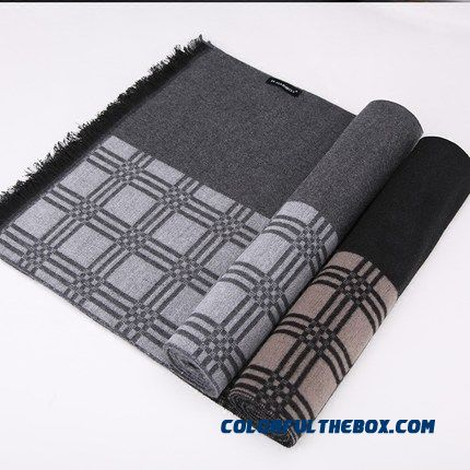 Men Accessories Brushed Scarves Winter Breathable Business Designed Specifically For Mature Men