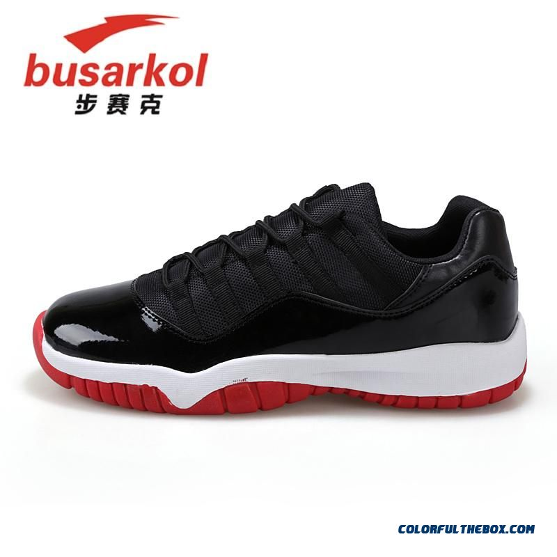 Men Black And Red Basketball Shoes Special Offer Free Shipping Cheap - more images 1