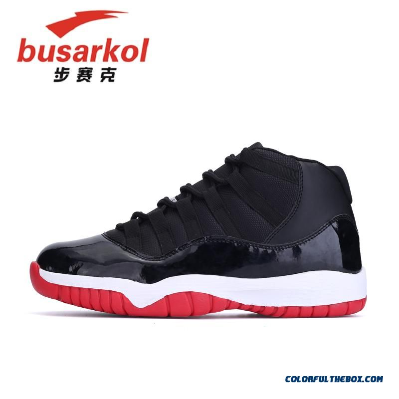 Men Black And Red Basketball Shoes Special Offer Free Shipping Cheap - more images 3