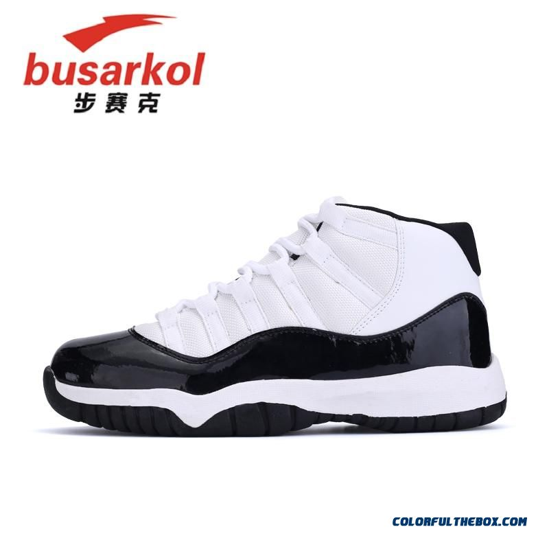 Men Black And Red Basketball Shoes Special Offer Free Shipping Cheap - more images 4