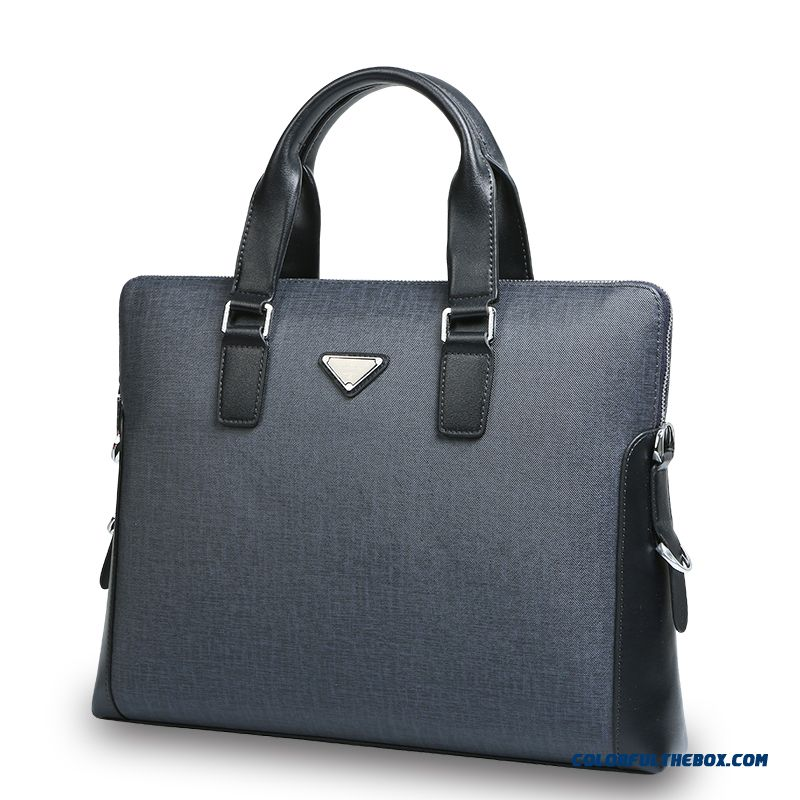 Men Handbag Horizontal Style Of Briefcase With Free Delivery Same Style Wallet