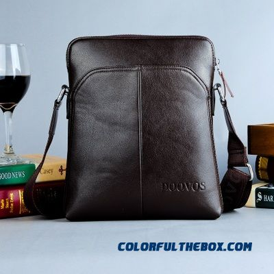 Men Vertical Style Of Backpack Briefcase Business Casual Free Shipping