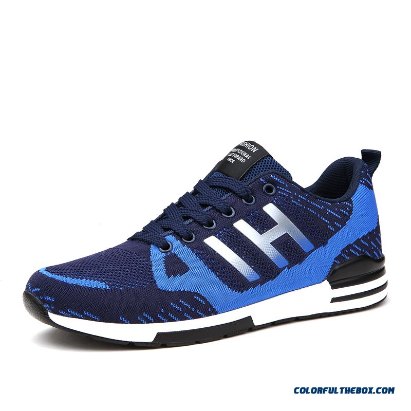 Men Winter Breathable Mesh Running Shoes Comfortable Antiskid