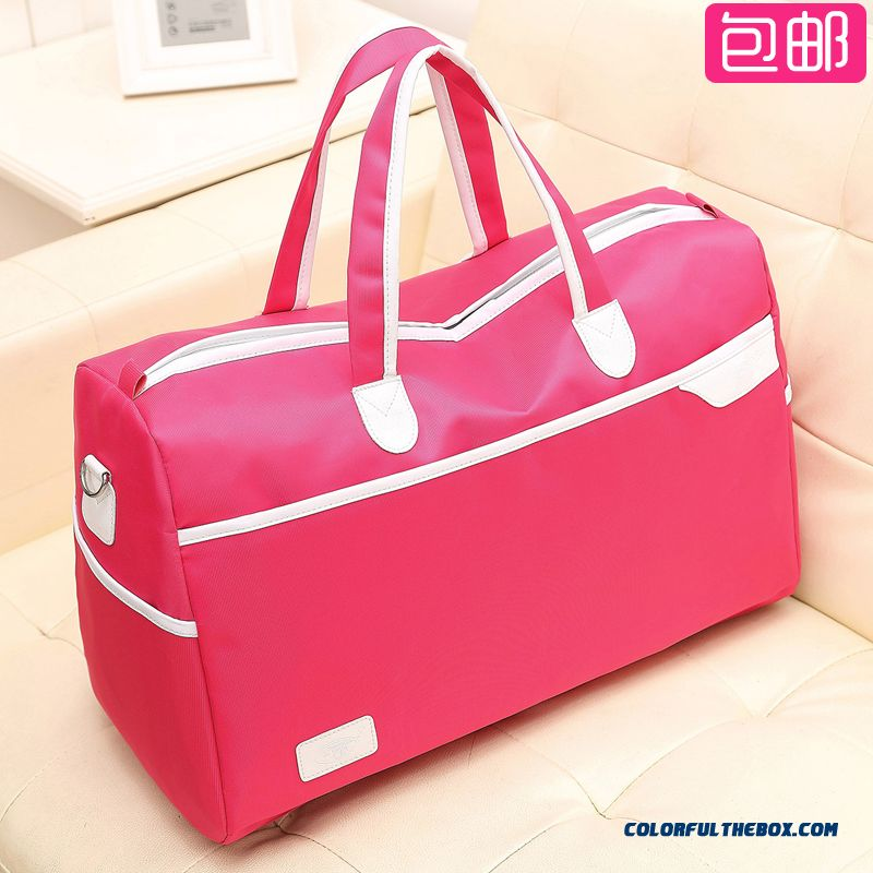 Men's Portable Travel Bag Large Capacity Travel Short Distances Bag Package Sports And Fitness Bags