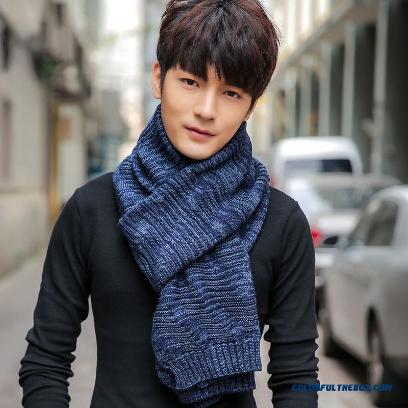 Men's Scarves Pyramid Pure Color Wool Scarf Women Unisex Accessories Special Favorited By Men