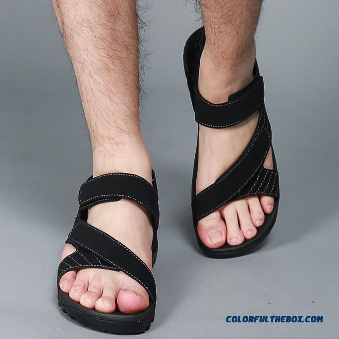 Men's Sports And Casual Beach Shoes Summer Sandals Absorb Sweat - more images 3