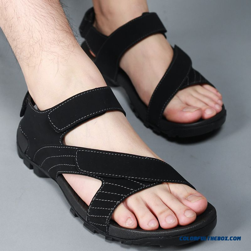 Men's Sports And Casual Beach Shoes Summer Sandals Absorb Sweat - more images 4