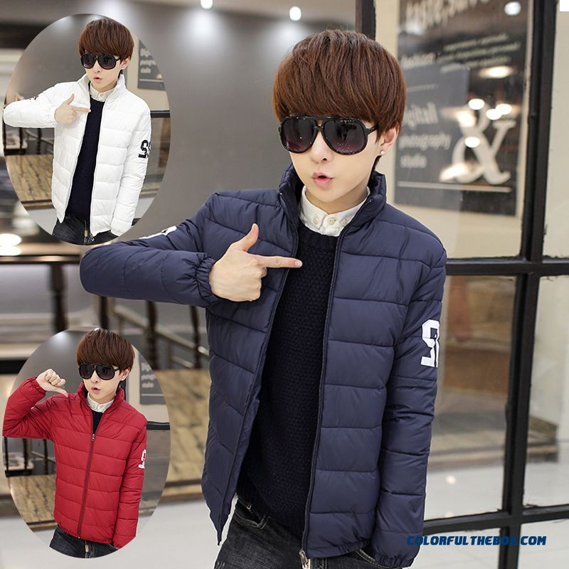 Men's Winter New Thicker Stand Collar Slim Hot Selling Coat
