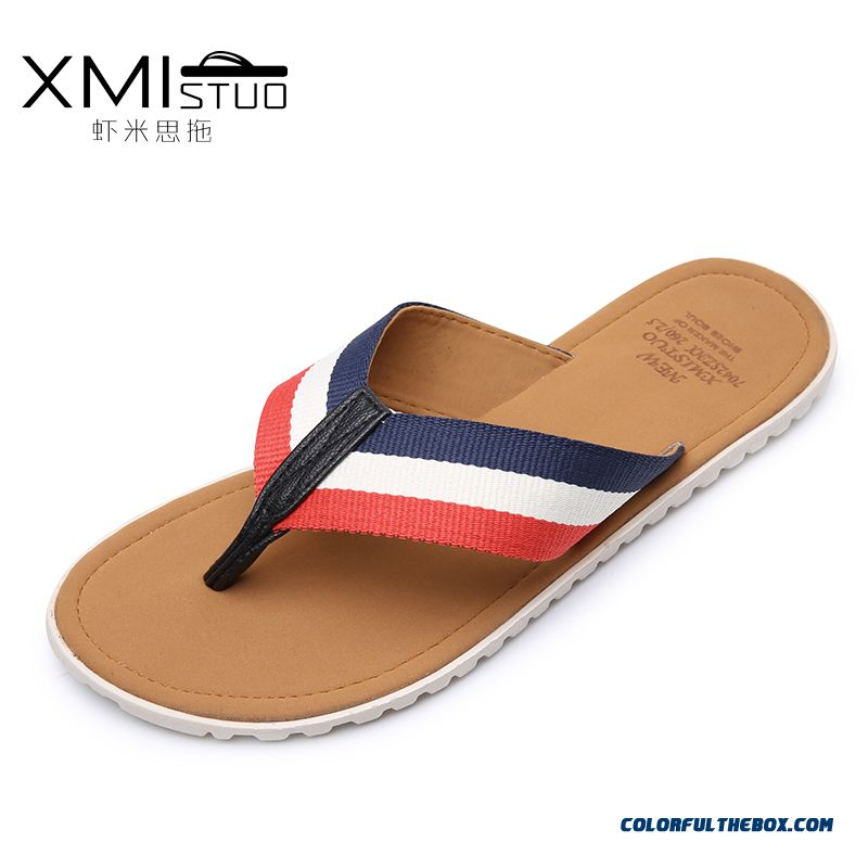 Men'slippers Personalized Antiskid Outwear Casual Shoes With Wear-resisting