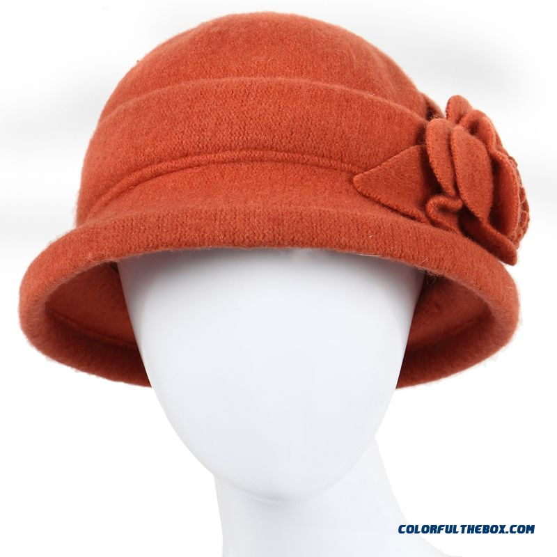 Middle-aged Ladies Hat Wool Hat Grandma Mom Cap Designed Specifically For The Elderly