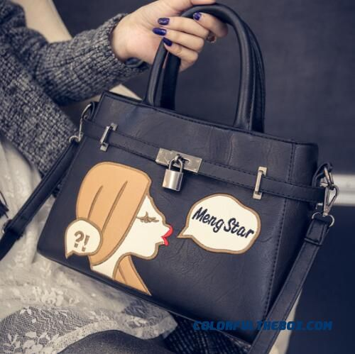 New Adorable Girl Printing Women Top-handle Bags Latest Popular Bags
