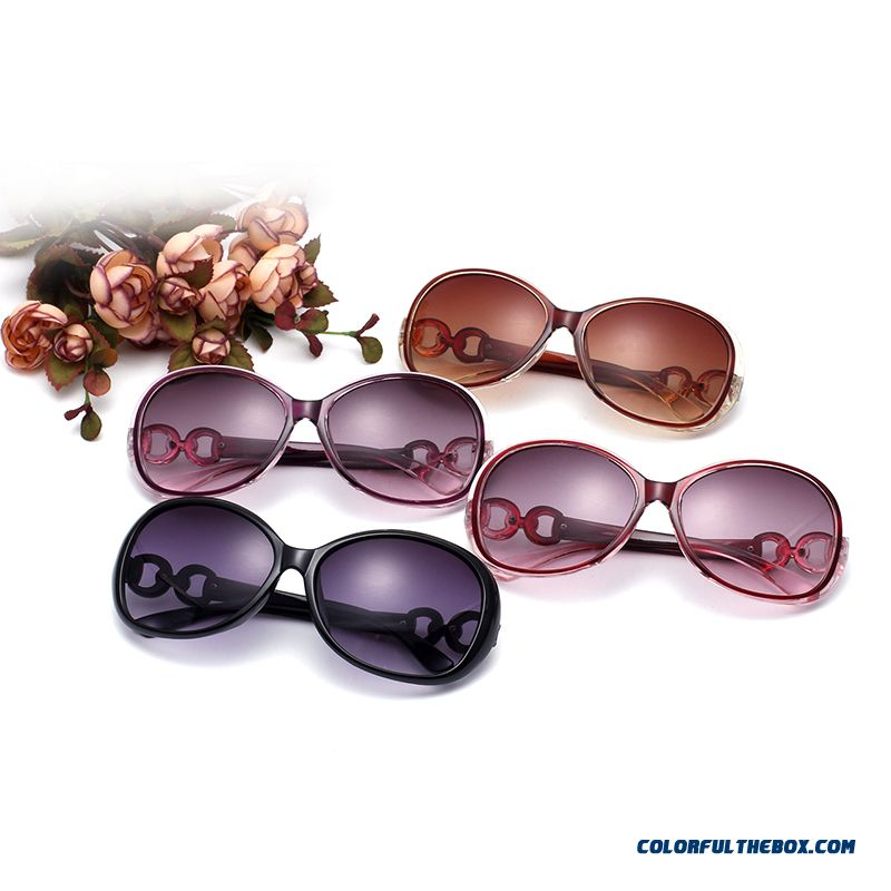 New All-match Sunglasses Women Models Goggles Elegant Vintage Sunglasses Uv Protection Cheap